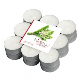 Scented Tea Lights - 18 Pack Lily of the valley