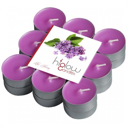 Scented Tea Lights - 18 Pack Lilac blossom
