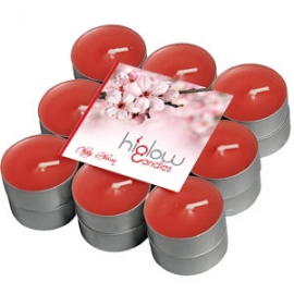 Scented Tea Lights - 18 Pack Cherry blossom