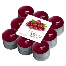 Scented Tea Lights - 18 Pack Wild cranberry