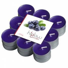 Scented Tea Lights - 18 Pack Blueberry