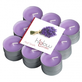 Scented Tea Lights - 18 Pack French lavender