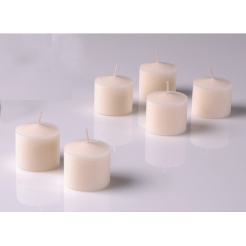 10 Hr Votive Candles Ivory set of 72