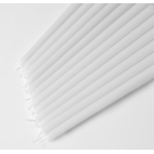 """18"""" Taper candles (White - Ivory) Case of 144"""