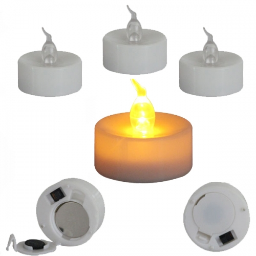 LED Flameless Flickering Tealight Candles